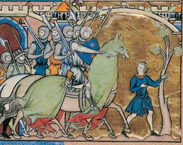 Maciejowski-Bibel: Folio 34r