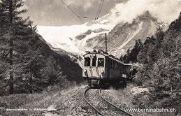 400-001 Verlag: Foto Flury, Pontresina. Karte gelaufen am 30.6.1946