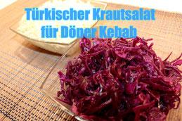 Türkische Küche Rezept Weißkraut salat Rotkohl