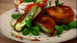 Kohlrabi paniertes Schnitzel Rezept Gemüse mal anders