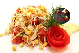 Gemischter russischer Krautsalat Kohlsalat Rezept