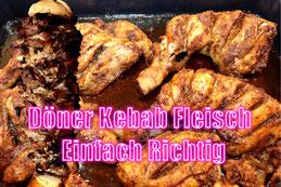 Döner Kebab Würzer Hähnchen Lamm gewürz Fleisch rezept