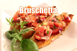 Bruschetta Rezept Klassisch italienisch kochen