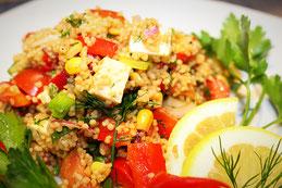 CousCous KusKus Salat Rezept