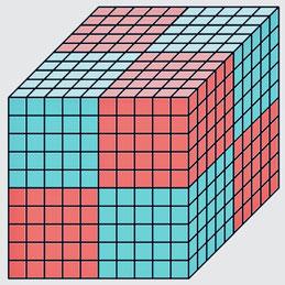 1000のブロックのイメージ
