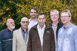 Der neue Vorstand der Natur- und Umwelthilfe Goslar e. V. - von Rechts: Gerhard Haase, Hubert Spaniol, Volker Schadach, Rüdiger Domnick, Udo Behr und Rolf Körner