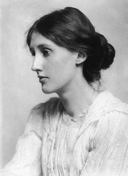 Virginia Woolf, Fotografie von George Charles Beresford, 1902 / gemeinfrei
