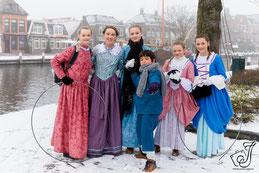Gezellige Kerstfair in Dickensstijl in Lemster