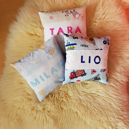 ZIrbenkissen - Babys - Zirbenkisserl - Geschenk - Schlaf - Geburt - Kind