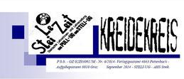 Stei Le Zeit, die aktuelle Ausgabe der Zeitung der Steli- UG