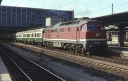 Chemnitz Hbf (1991), Foto: Phil Richards