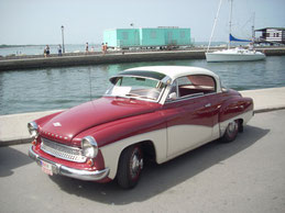 Wartburg 311 Coupé in Cesenatico / Italien