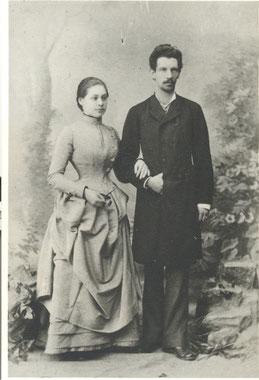 Jenny (geb. Rubin) und Anton Weiss
