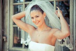 Braut Claudia / Braut Make-Up by Wandelbar München
