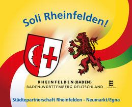 Designtes Schild Rheinfelden