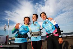Tag der Girls auf Teneriffa: Justyna, Alice und Steffi.