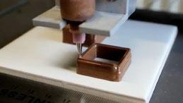 Drucken statt Kochen: Essen aus dem 3-D-Drucker? Forscher drucken inzwischen Schokolade, Süßigkeiten und weiche Nahrungsmittel
