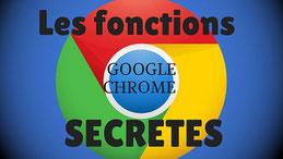 Google Chrome logo fonction cachées