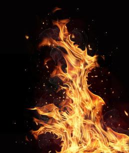 Feuer, Flame, Huna Vita Gebet