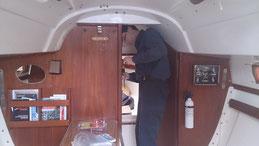 Début des traveaux de cabine 2014
