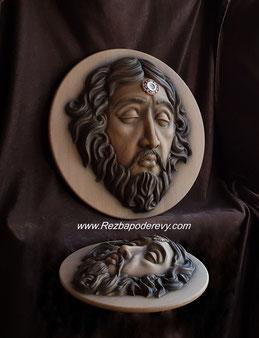 Голова Иоанна Крестителя мощевик