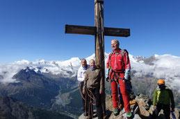eindrückliche 4000er Welt, Alphubel-Dom-Lenzspitze