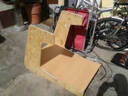 ein rennsitz playseat wird gebaut modellbau dirk. Black Bedroom Furniture Sets. Home Design Ideas
