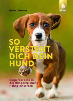 """Auf dem Buchcover zum Buchtitel !So versteht dich dein Hund"""" ist ein Hund zu sehen, der direkt auf den Leser zuläuft."""
