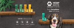 Cannabis - CBD Öle HempMate für Mensch und Tier