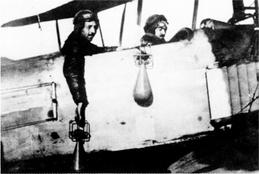 Spanischer Bombenangriff