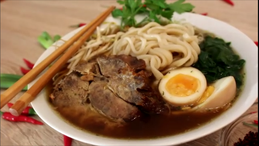 Japanische Ramen Suppe Yakibuta