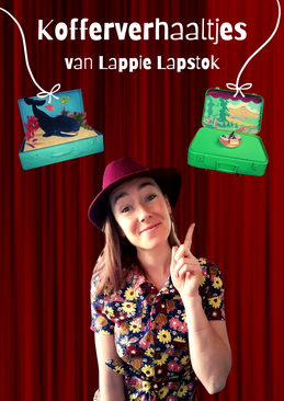 Lappie Lapstok, poppentheater, kinderanimatie, kinderfeestje