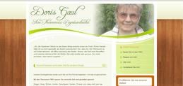Website von Doris Gaul