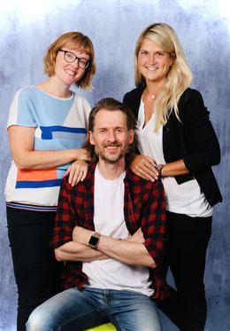 Frau Beckert, Herr Fiedel, Frau Göttermann