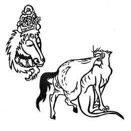 送り狼と馬頭観音