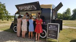Glaces à la plancha de Gourmet's dans le Lot & Garonne