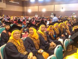 Pn. Norhafriza dan rakan Perantis Pranita & SLDNK 2011 - 2014 sempena Konvo SLDN Ke 3 di ADTEC Taiping pd. 16 Dec 2014