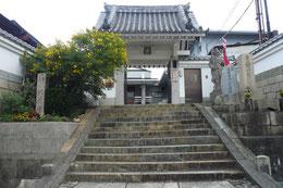 心眼寺の石段