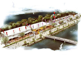 極楽橋の武将ホールと侍ミュージアム