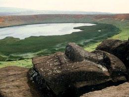 Chile Santiag Osterinsel Maoris Petroglyphen Inka Vulkane Pazifik Ozeanien Paititi-Tours
