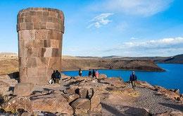 Chullpas von Sillustani, Titicacasee Peru, Paititi Tours, Harald Petrul