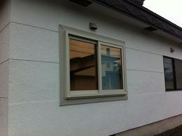 外窓の交換(樹脂サッシ)