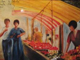 * 90a- Le marché de Toulon, 41 x 27