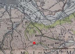 八王子の地質図