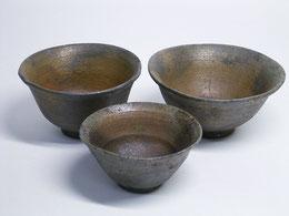 八王子粘土の茶碗