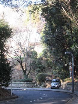 頼山陽文徳殿(広島市南区)の前の様子    2020・3・7 撮影は見延典子。以下同様