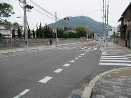 かつての西国街道(広島県三原市)