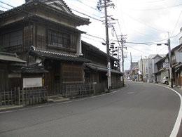 中山道沿い矢橋邸