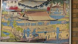 明治版画の湊川神社