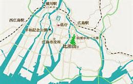 広島市にある比治山は標高70mの小高い丘
